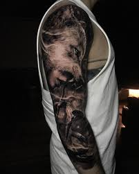 wolf sleeve best forearm tattoos cool ideas and designs