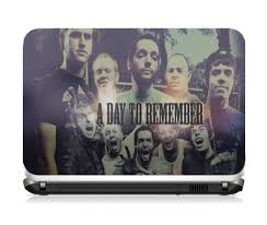 skin notebook a day to remember compre e presenteie bandas