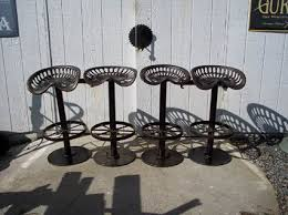Tractor Seat Bar Stools For Sale Vintage Tractor Seat Stools I Have A Neighbor Who Welds I
