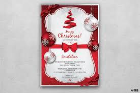 christmas eve menu template psd v 4