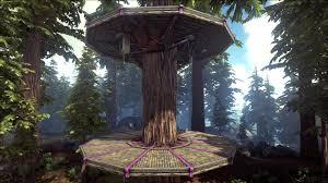 wooden tree platform official ark survival evolved wiki