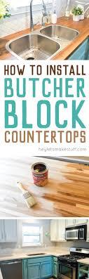 how to install butcher block countertops how to install butcher block countertops hey let s make stuff