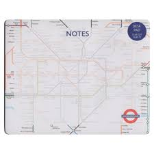 underground map underground map tear paper mouse mat pad gift desk