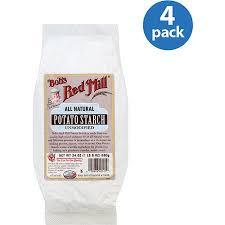potato starch bob s mill all unmodified potato starch 24 oz pack