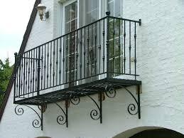 semi circle balcony railing finelli ironworks