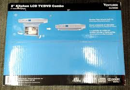 Tv Under Kitchen Cabinet New Venturer Klv39082 8 Under Cabinet Kitchen Tv With Dvd Player