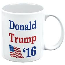 thermal coffee mugs with handle election 2016 16 flag donald trump