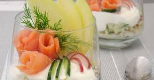 cuisine de a a z verrine verrine aux 2 saumons pomme celeri et creme aux baies roses