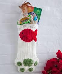 free kitted stocking patterns christmas stocking crochet pattern