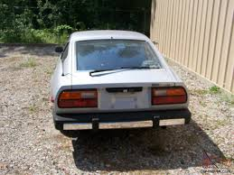 datsun 280zx silver all original w owners manual and clear title