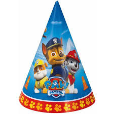 party hats paw patrol party hats 8ct walmart