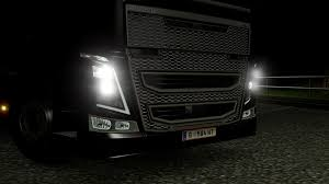 white volvo truck new lights black lights for volvo fh 2013 ets 2 euro truck