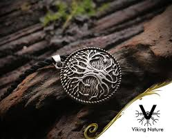 norse tree of necklace viking nature