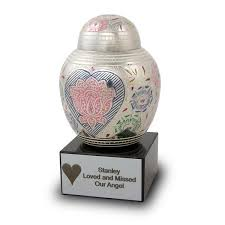 urn for ashes lotus blossom pet urns small