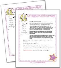 Words Of Wisdom Bridal Shower Game Left Right Bridal Shower Game Bridal Shower Games Bridal Shower