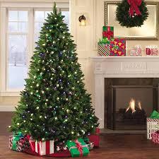 prelit led tree decor
