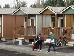 tiny houses for the homeless an affordable solution catches on by