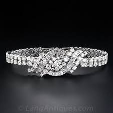 diamond bracelet ladies images Vintage ladies diamond bracelet cover watch jpg