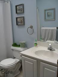 Bathroom Ideas Blue And White Bathroom Gorgeous Small Design Ideas With Light Blue Wall Along