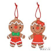 12 big gingerbread ornament craft kit craft kits