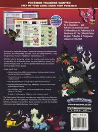 pokemon x u0026 pokemon y the official kalos region pokedex