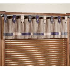 Grommet Top Valances Wonderful Faux Suede Valance 147 Brown Faux Suede Valance Vista