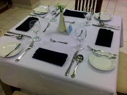 Proper Table Setting by Furniture Alluring Basics Fine Dining Objectives Picture Table