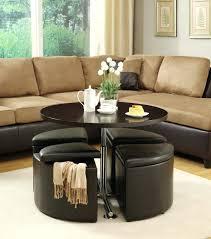 Leather Ottoman Cocktail Table Living Room Storage Ottoman Beautiful Ottoman Coffee Table Design