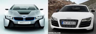 Audi R8 Hybrid - photo comparison bmw i8 vs audi r8