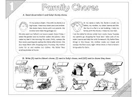 93 free esl chores worksheets