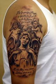 180 sacred angel tattoos for men women 2017 collection
