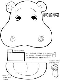 13 best hippo theme images on pinterest alphabet activities