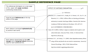 bunch ideas of purdue owl apa format reference page for your