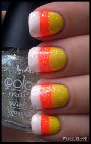 nail art halloween candy ideas easy nail art designs arteasy for