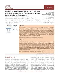 Etl Manager Extraction Transformation Load Etl Solution For Data Integration