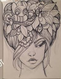 how to draw doodle faces 168 best zentangle hair images on books artists and