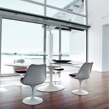 dining table eero saarinen style tulip dining table with white