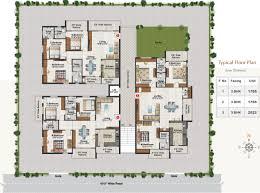 glenridge hall floor plans hallmark glenridge in narsingi hyderabad price location map