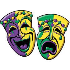 Beistle 55064 Comedy U0026 Tragedy Face Cutouts 2 Pack Shopatdean