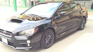 sti subaru 2017 2017 subaru wrx sti sport in black personal new owner review