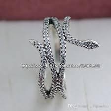 pandora silver snake bracelet images Women ring 2015 new 925 sterling silver european pandora style jpg