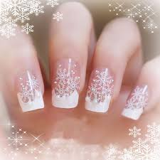 christmas nails art design acrylic stickers cute easy
