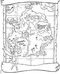 printable treasure map coloring page 100 images treasure map