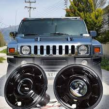 jeep hummer conversion hummer h1 h2 and h3 led hid lighting upgrades