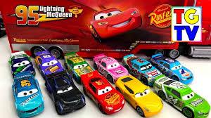 disney cars 3 lightning mcqueen piston cup racers youtube