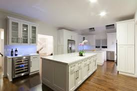 forevermark cabinets ice white shaker ice white shaker contemporary kitchen new york by luxcraft