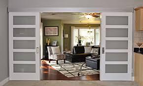 johnson barn door track small living room interior design living