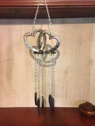heart shaped horseshoes hanging horseshoe hearts horseshoe horseshoe heart handmade