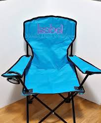Childrens Armchair Uk Birthday Gift Beach Chair Monogrammed Kids Folding Chair
