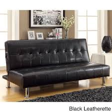 collection in futon sofa bed with storage chocolate microfiber